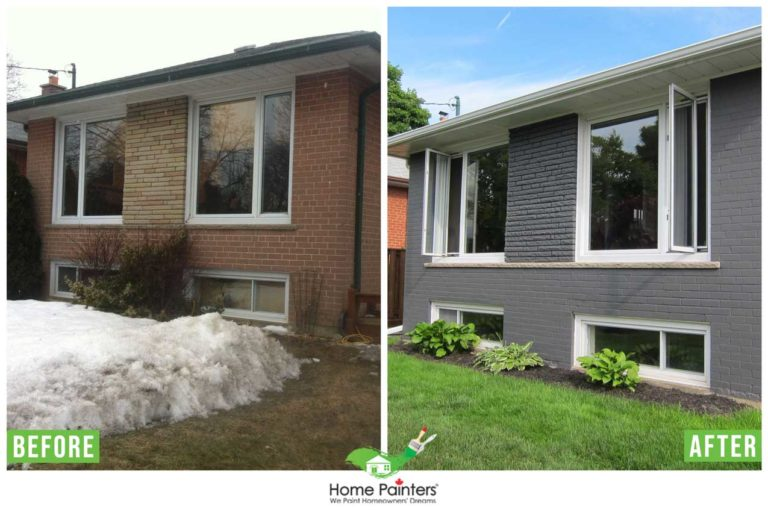 How Much Does Exterior Brick Staining Cost Home Painters Toronto