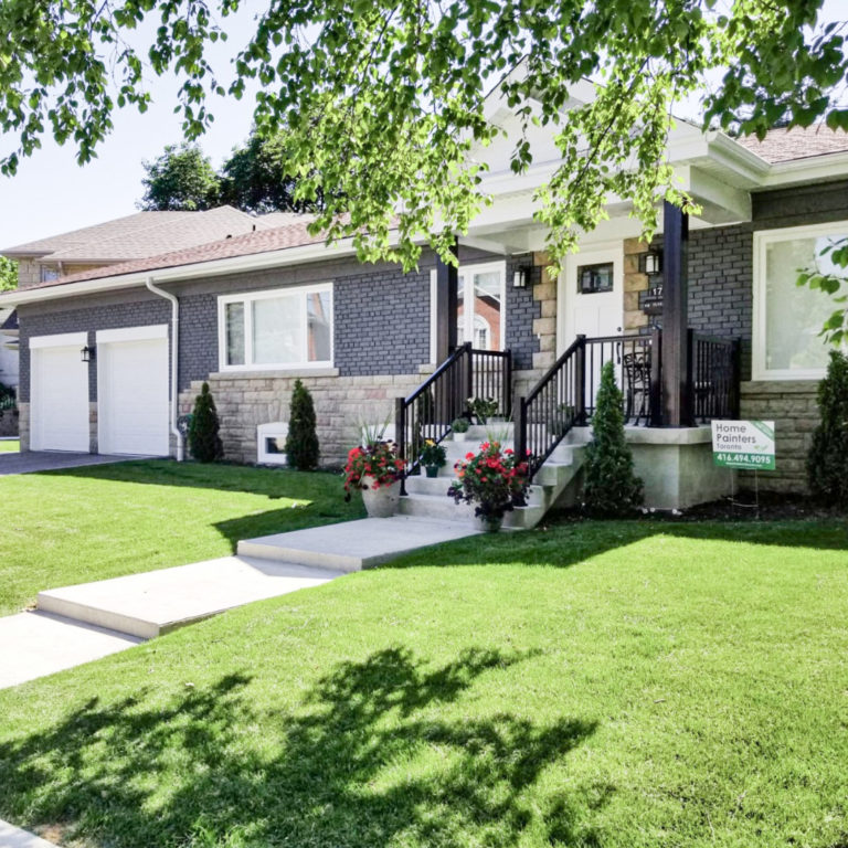 The Cost Of Exterior Paint For Your Home Home Painters Toronto