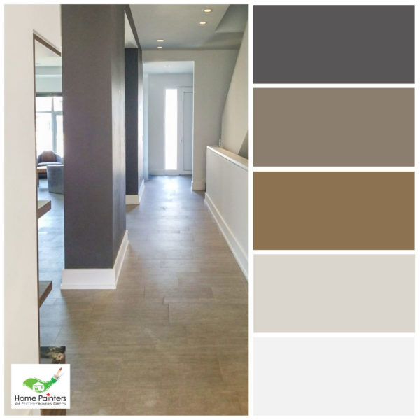 hallway paint colours to brighten a room for modern house interior