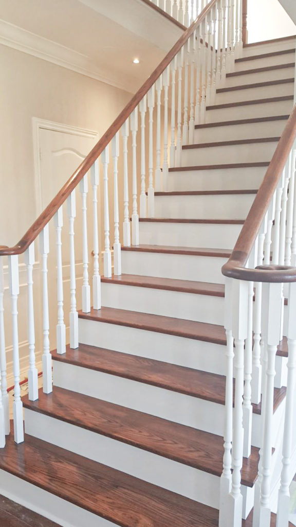 Painted Stairs Ideas Home Painters Toronto