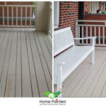 exterior deck staining; porch painting; best deck paint