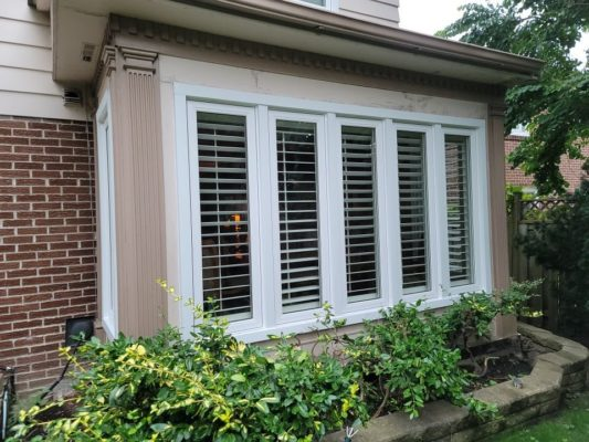 Exterior wood siding by home painters toronto